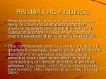 primary rq findings15