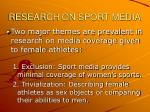 research on sport media3