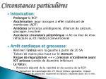 circonstances particuli res22