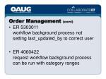 order management cont16