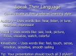 speak their language17