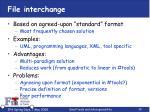 file interchange