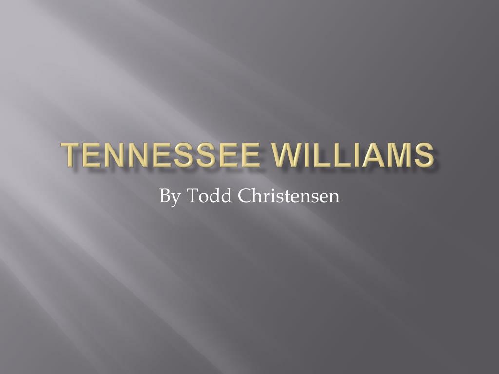 tennessee williams l.