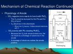 mechanism of chemical reaction continued9
