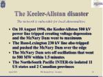 the keeler allston disaster