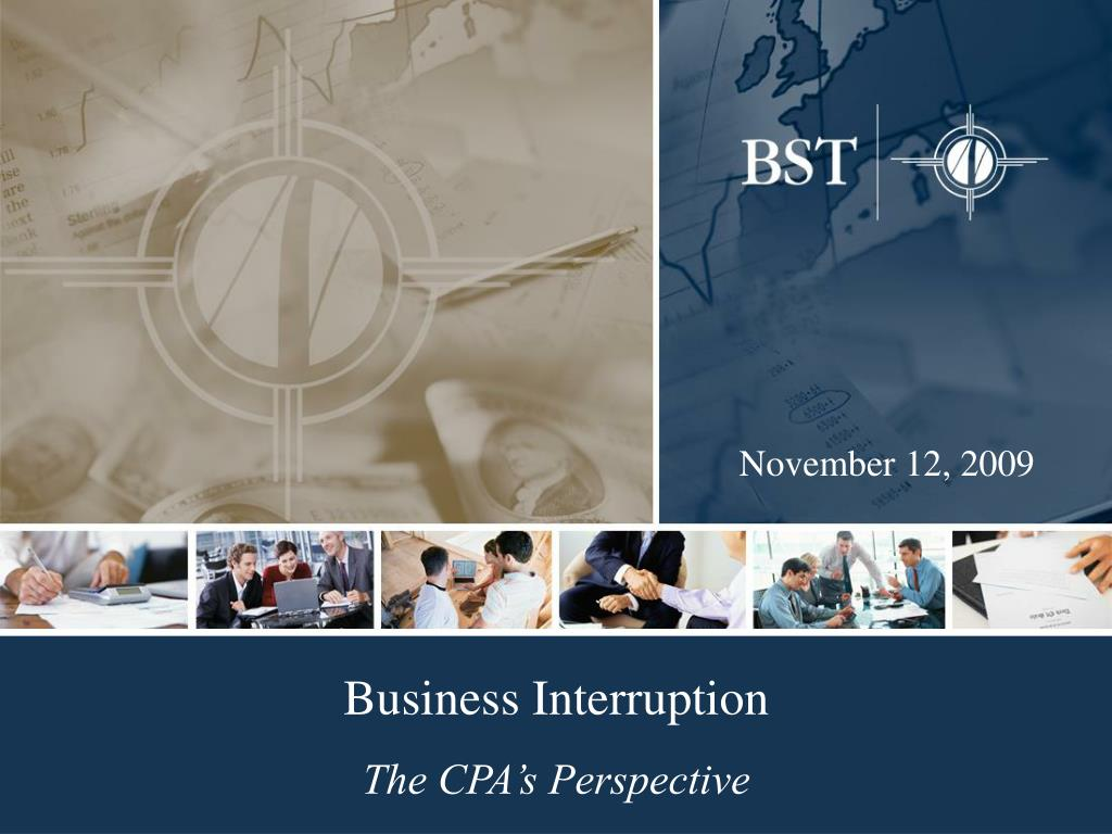 business interruption the cpa s perspective l.