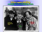 interoperability example the calendaring crisis