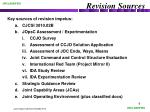 revision sources