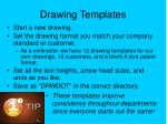 drawing templates