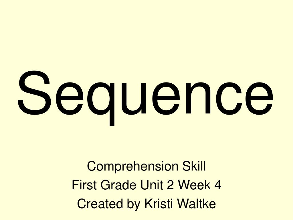 sequence l.