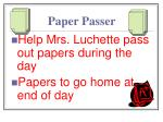 paper passer