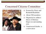 concerned citizens committee