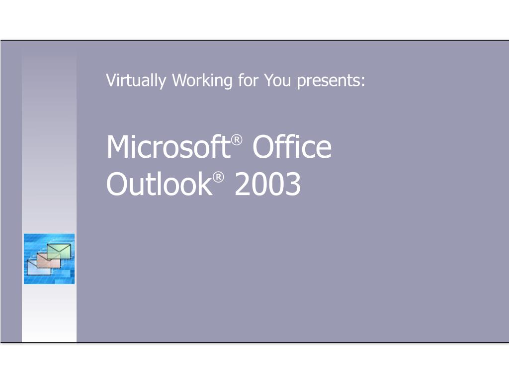 microsoft office outlook 2003 l.