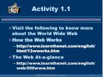 activity 1 1