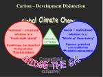 carbon development disjunction5