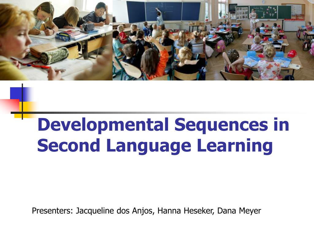 developmental sequences in second language learning l.