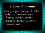 subject pronouns10