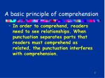 a basic principle of comprehension