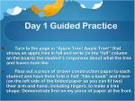 day 1 guided practice