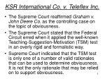 ksr international co v teleflex inc