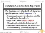 function composition operator