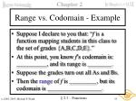 range vs codomain example