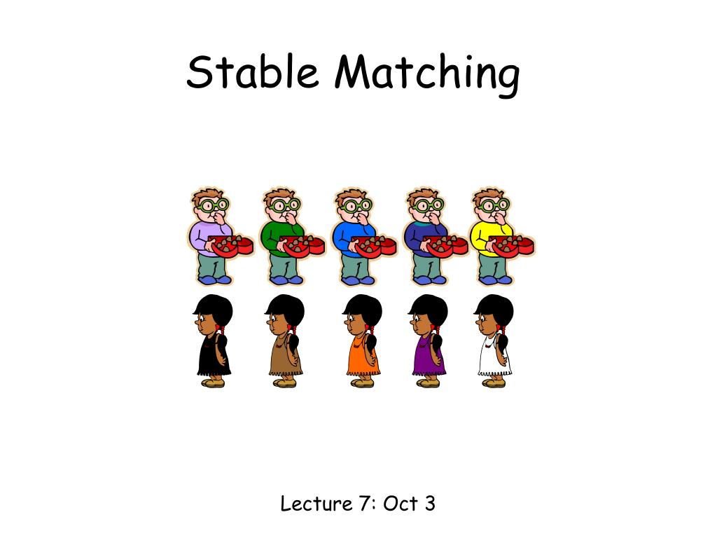 stable matching l.