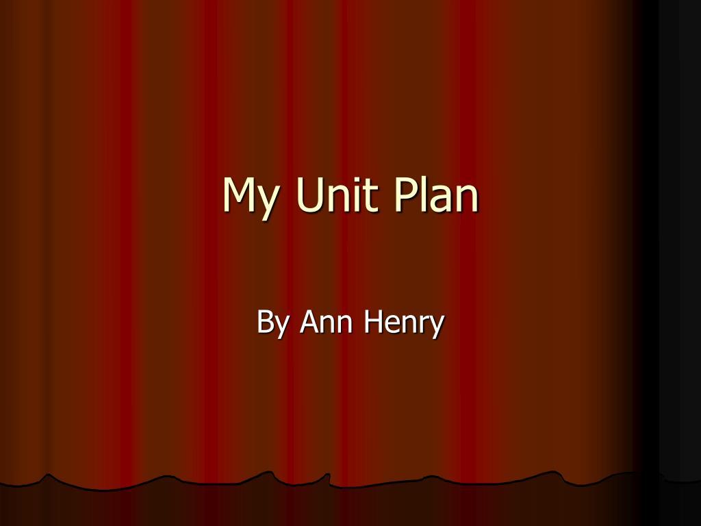 my unit plan l.