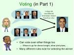 voting in part 1
