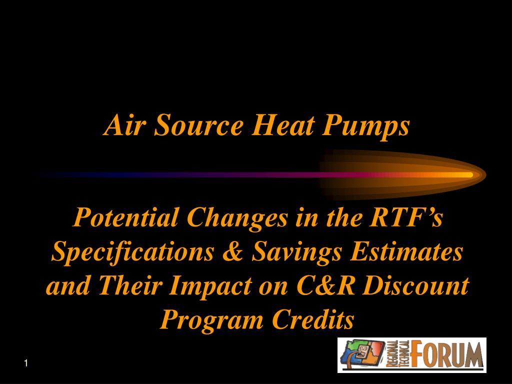 air source heat pumps l.