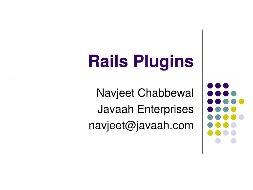 rails plugins l.