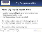 city surplus auction3