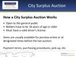 city surplus auction4