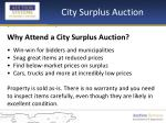city surplus auction7