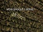 how should i serve