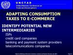 adapting consumption taxes to e commerce