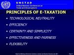 principles of e taxation