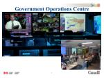 government operations centre