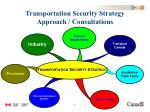 transportation security strategy approach consultations