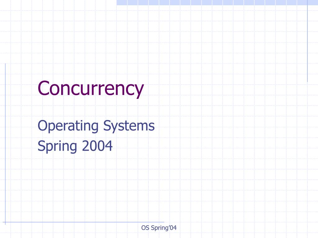concurrency l.