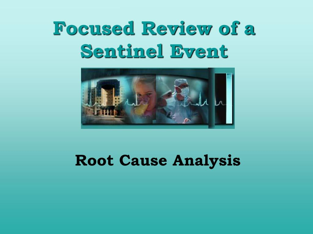 focused review of a sentinel event l.