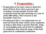 4 evaporation