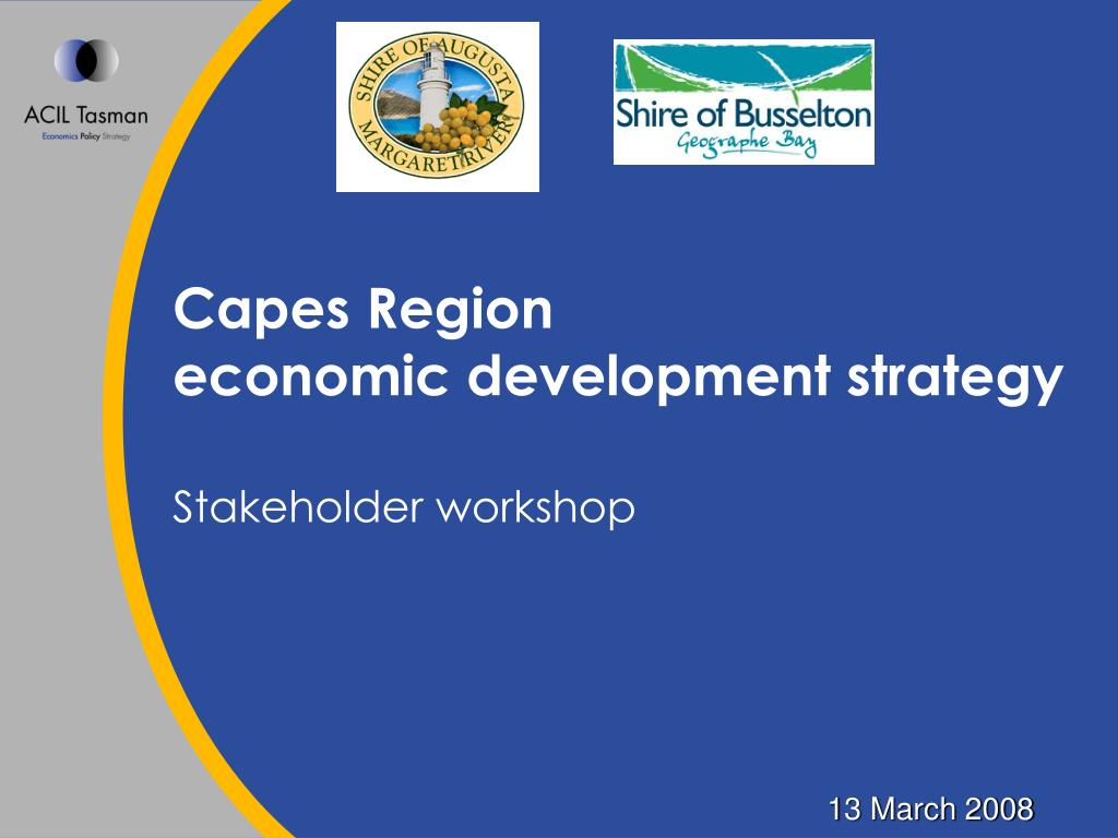 capes region economic development strategy l.