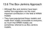 13 6 the box jenkins approach37