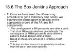 13 6 the box jenkins approach40