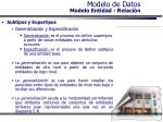 modelo de datos modelo entidad relaci n33