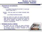 modelo de datos modelo entidad relaci n35