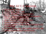 why did u s intervene