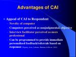 advantages of cai11