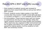 results gpa in bsit and sjsu courses